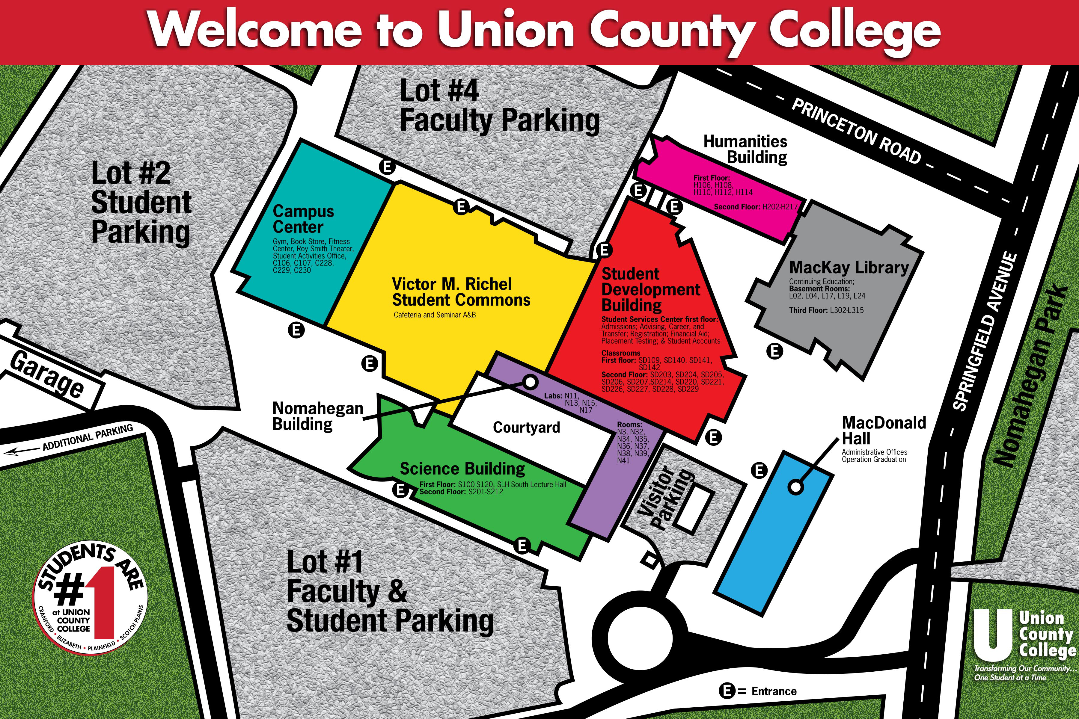 Kellogg Community College Campus Map.Campus Map About Union